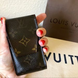 Louis Vuitton LV Monogram Cigarette Case Vintage